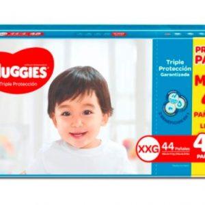 Pañal Huggies Triple Protección XXG 48