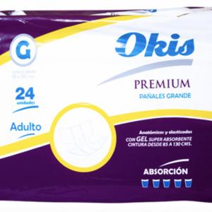 Pañal Okis Premium G 24