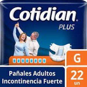 Pañal Cotidian Plus G 22