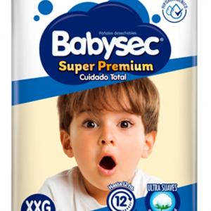 Pañal Babysec Superpremium XXG 14