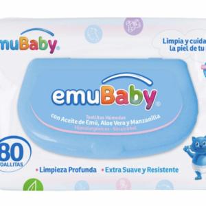 Toallas Humedas Emubaby Premium 80 c/tapa