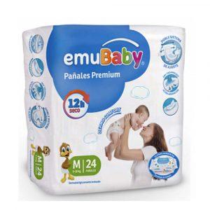 Pañal EmuBaby M 24