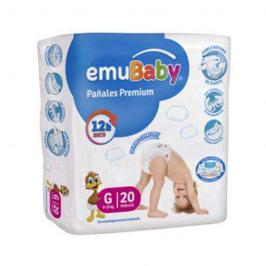 Pañal Premium emuBaby G 20