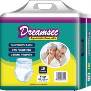 Calzón Pants Dreamsec 10 Talla M